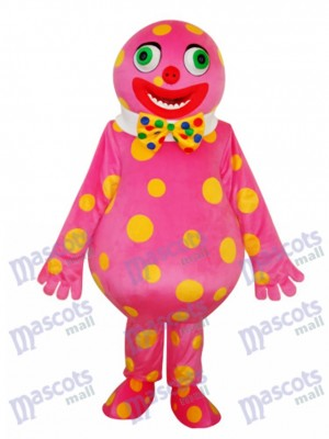 Spotted Clown Mascot Adult Costume Cartoon Anime