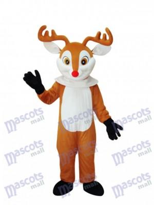 Golden Sika Deer Mascot Adult Costume Animal