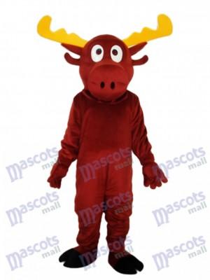 Reindeer Mascot Adult Costume Animal