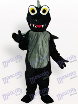 Black Dinosaur Animal Adult Mascot Costume