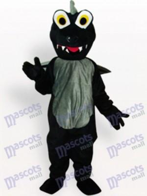 Black Dinosaur Animal Adult Mascot Costume