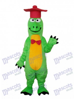 Gentleman Dinosaur Mascot Adult Costume Animal