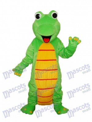 Happy Lizard Dinosaur Mascot Adult Costume Animal
