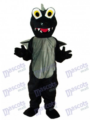 Black Dinosaurs Mascot Adult Costume Animal