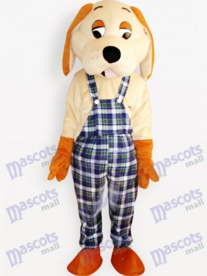 Happy Dog Animal Adult Mascot Costume