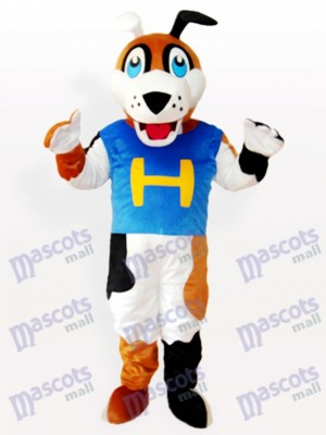 H Dog Adult Mascot Costume