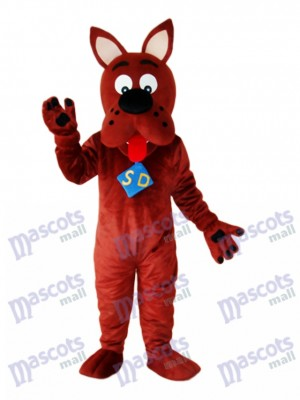 Scooby-Doo Dog Mascot Adult Costume Animal
