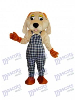 Lucky Dog Mascot Adult Costume Animal