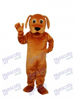Golden Dog Mascot Adult Costume Animal