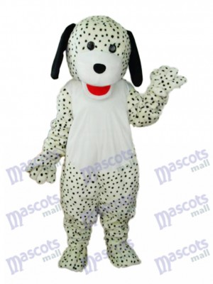 Spotted Colourful Dog Mascot Adult Costume Animal