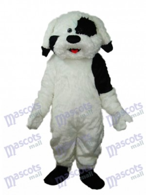 Long Haired Colourful Dog Mascot Adult Costume Animal