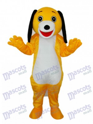 Small Brown Dog Mascot Adult Costume Animal