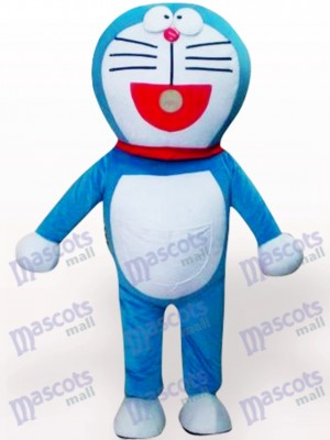 Vivid Doraemon Cartoon Anime Adult Mascot Costume