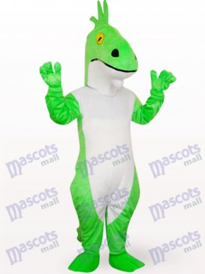 Green Dragon Animal Mascot Costume