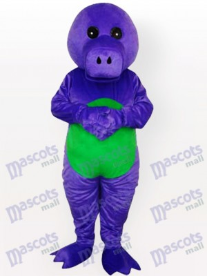 Purple Dragon Adult Mascot Costume