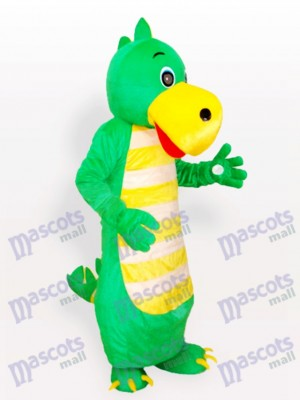 Green Dragon Adult Mascot Costume