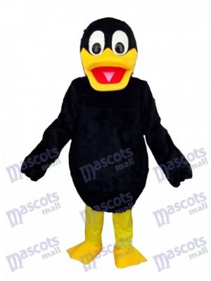 Black Duck Mascot Adult Costume Animal