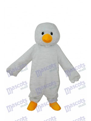 Super Soft White Chick Adult Mascot Costume Animal