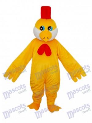 Little Yellow Chicken Mascot Adult Costume Animal
