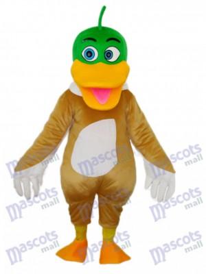Green Duck Mascot Adult Costume Animal