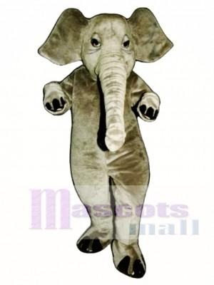 Realistic Elephant Mascot Costume Animal