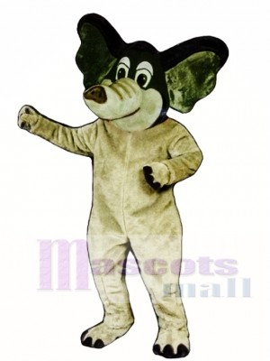 Edgar Elephant Mascot Costume Animal