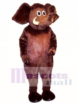 Realistic Monty Mammoth Elephant Mascot Costume Animal