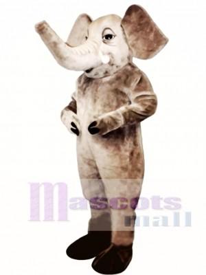 Tusked Elephant Mascot Costume Animal