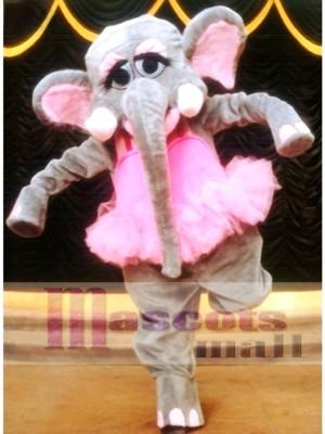 Cute Elephant Mascot Costume Animal