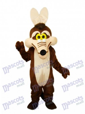 Brown Fox Mascot Adult Costume Animal