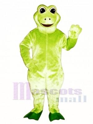 Fred Frog Mascot Costume Animal