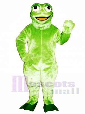 Jaunty Toad Frog Mascot Costume Animal