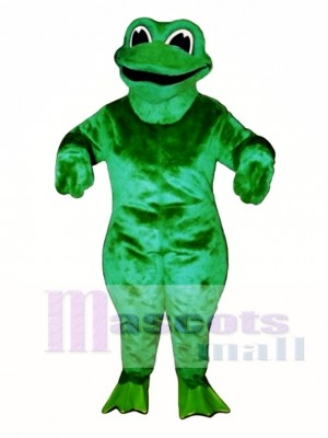 Croaking Frog Mascot Costume Animal