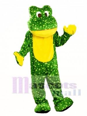Deluxe Frog Mascot Costume Animal
