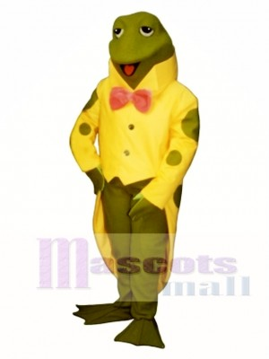 Mr. Ribbet Frog Mascot Costume Animal