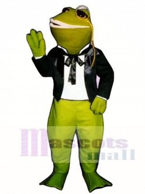 Courting Frog Mascot Costume Animal