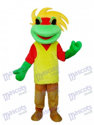 Frog Prince Mascot Adult Costume Animal