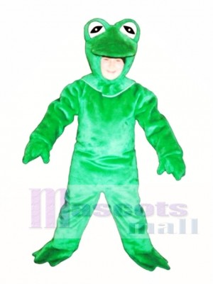 Cute Frog Mascot Costume Animal