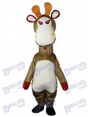 Giraffe Mascot Adult Costume Animal