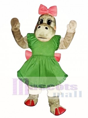 Cute Patty Potamus Hippo Mascot Costume Animal