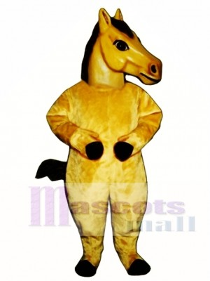 Cute Realistic Horse Mascot Costume Animal