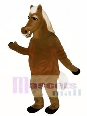 Cute Horace Horse Christmas Mascot Costume Animal