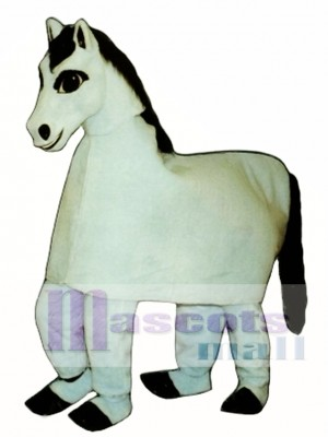 Cute Two Man Harriet Horse Mascot Costume Animal