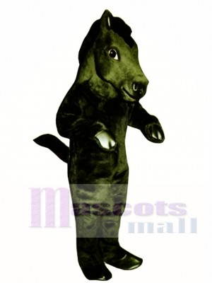 Cute Mustang Horse Mascot Costume Animal