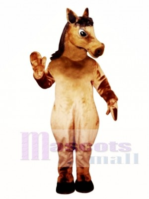 Cute Pony Horse Mascot Costume Animal
