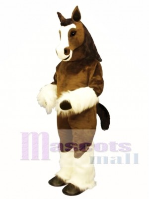 Cute Shirley Shire Horse Mascot Costume Animal