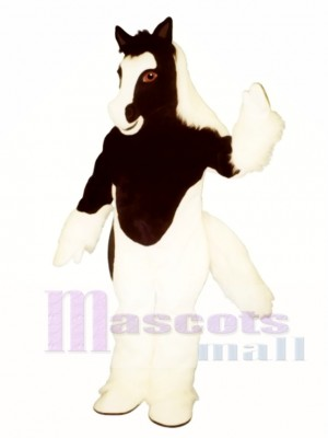 Cute Gypsy Vanner Horse Mascot Costume Animal