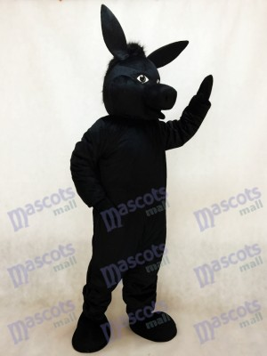Black Donald Donkey Mascot Costume Animal