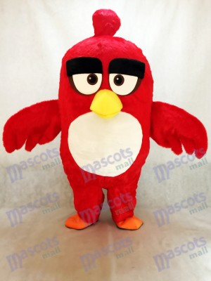 Animation Animal Red Bird Mascot Costume