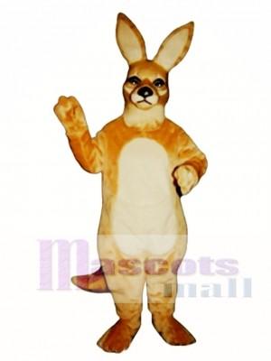 Girl Kangaroo Mascot Costume Animal